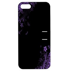 Beautiful Lila Flower  Apple iPhone 5 Hardshell Case with Stand