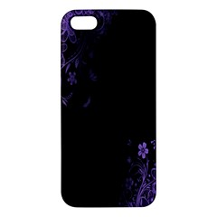 Beautiful Lila Flower  iPhone 5S/ SE Premium Hardshell Case