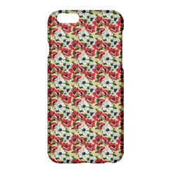 Gorgeous Red Flower Pattern  Apple iPhone 6 Plus/6S Plus Hardshell Case
