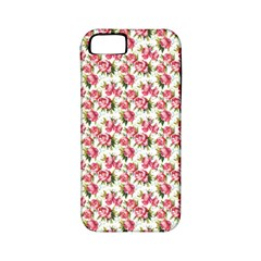 Gorgeous Pink Flower Pattern Apple iPhone 5 Classic Hardshell Case (PC+Silicone)