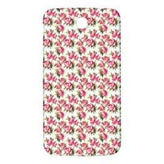 Gorgeous Pink Flower Pattern Samsung Galaxy Mega I9200 Hardshell Back Case