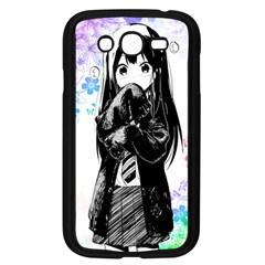 Shy Anime Girl Samsung Galaxy Grand DUOS I9082 Case (Black)
