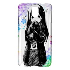 Shy Anime Girl Samsung Galaxy Note 3 N9005 Hardshell Case