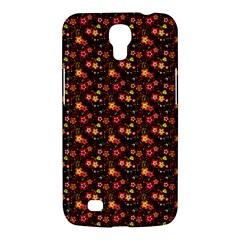 Exotic Colorful Flower Pattern  Samsung Galaxy Mega 6.3  I9200 Hardshell Case