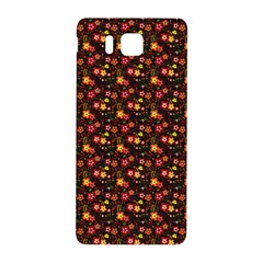 Exotic Colorful Flower Pattern  Samsung Galaxy Alpha Hardshell Back Case