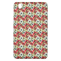 Gorgeous Red Flower Pattern  Samsung Galaxy Tab Pro 8.4 Hardshell Case