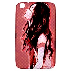 Day Dreaming Anime Girl Samsung Galaxy Tab 3 (8 ) T3100 Hardshell Case