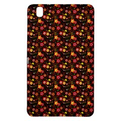 Exotic Colorful Flower Pattern  Samsung Galaxy Tab Pro 8.4 Hardshell Case