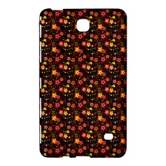 Exotic Colorful Flower Pattern  Samsung Galaxy Tab 4 (8 ) Hardshell Case