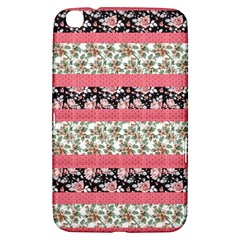 Cute Flower Pattern Samsung Galaxy Tab 3 (8 ) T3100 Hardshell Case