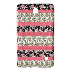 Cute Flower Pattern Samsung Galaxy Tab 4 (8 ) Hardshell Case