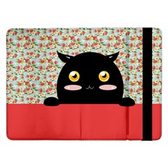 Cute Kitty Hiding Samsung Galaxy Tab Pro 12.2  Flip Case