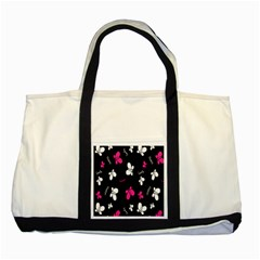 Butterfly Two Tone Tote Bag