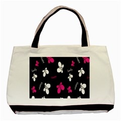 Butterfly Basic Tote Bag (Two Sides)