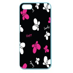 Butterfly Apple Seamless iPhone 5 Case (Color)