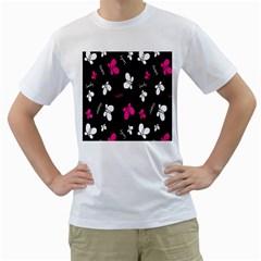 Butterfly Men s T-Shirt (White)