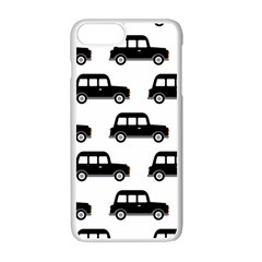Car Apple Iphone 7 Plus White Seamless Case