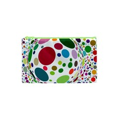 Color Balls Cosmetic Bag (xs)