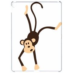 Colorful Animal Monkey Apple Ipad Pro 12 9   Hardshell Case