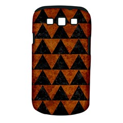 Triangle2 Black Marble & Brown Marble Samsung Galaxy S Iii Classic Hardshell Case (pc+silicone)