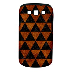 Triangle3 Black Marble & Brown Marble Samsung Galaxy S Iii Classic Hardshell Case (pc+silicone)