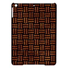 Woven1 Black Marble & Brown Marble Apple Ipad Air Hardshell Case