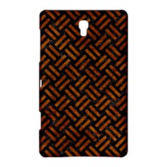 Woven2 Black Marble & Brown Marble Samsung Galaxy Tab S (8 4 ) Hardshell Case