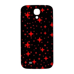 Bright Red Stars In Space Samsung Galaxy S4 I9500/i9505  Hardshell Back Case
