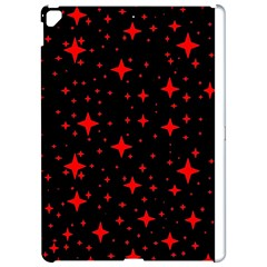 Bright Red Stars In Space Apple Ipad Pro 12 9   Hardshell Case