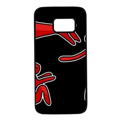 People Samsung Galaxy S7 Black Seamless Case