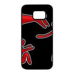 People Samsung Galaxy S7 edge Black Seamless Case