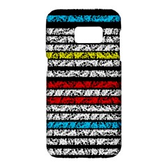 Simple Colorful Design Samsung Galaxy S7 Hardshell Case