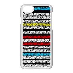 Simple Colorful Design Apple Iphone 7 Seamless Case (white)