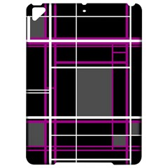 Simple magenta lines Apple iPad Pro 9.7   Hardshell Case
