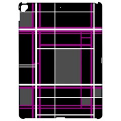 Simple magenta lines Apple iPad Pro 12.9   Hardshell Case