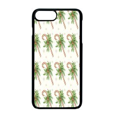Candy Cane Printable Apple Iphone 7 Plus Seamless Case (black)