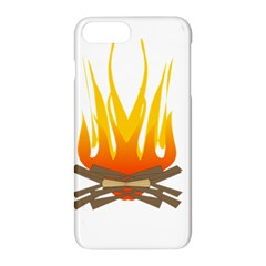 Fire Apple Iphone 7 Plus Hardshell Case