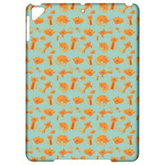 Cute Cat Animals Orange Apple Ipad Pro 9 7   Hardshell Case