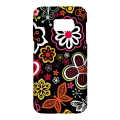 Flower Butterfly Samsung Galaxy S7 Hardshell Case
