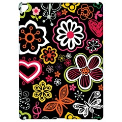 Flower Butterfly Apple Ipad Pro 12 9   Hardshell Case