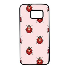 Insect Animals Cute Samsung Galaxy S7 Black Seamless Case