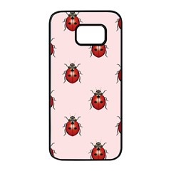 Insect Animals Cute Samsung Galaxy S7 Edge Black Seamless Case