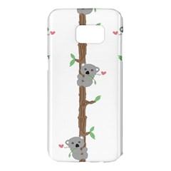 Koala Pattern Samsung Galaxy S7 Edge Hardshell Case