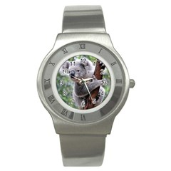 Koala Stainless Steel Watch