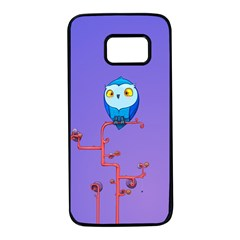 Owl Spider Samsung Galaxy S7 Black Seamless Case