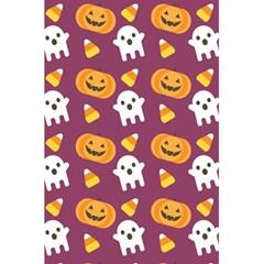Pumpkin Ghost Canddy Helloween 5 5  X 8 5  Notebooks