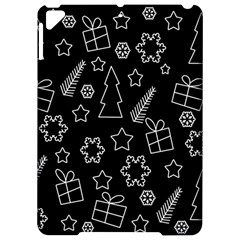 Simple Xmas pattern Apple iPad Pro 9.7   Hardshell Case