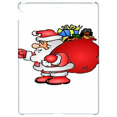 Santa Claus Xmas Christmas Apple Ipad Pro 12 9   Hardshell Case