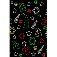 Colorful Xmas Pattern 5 5  X 8 5  Notebooks