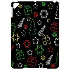 Colorful Xmas pattern Apple iPad Pro 9.7   Hardshell Case